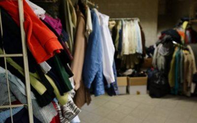 Przekaż odzież potrzebującym
