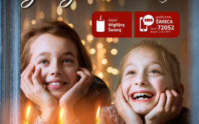 Kupując świecę wesprzesz ubogie dzieci