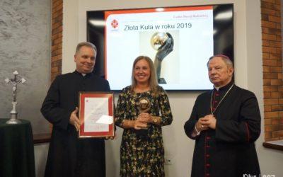 """Wyróżnienia ipodziękowania dla dobroczyńców wsali """"św. Franciszka zRadomia"""""""