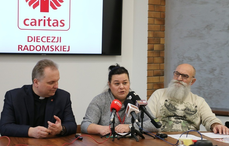Caritas pomaga bezdomnym