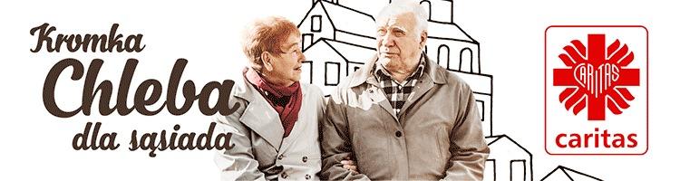 Kromka Chleba dla Sąsiada -pamiętajmy oosobach starszych