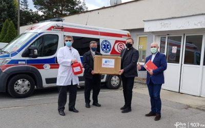 Caritas przekazała wKozienicach kolejne urządzenie dodezynfekcji karetek